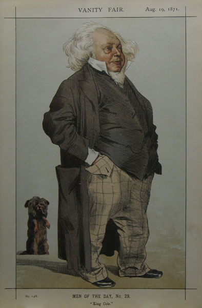 """King Cole"" - Men of the Day No 29 - Vanity Fair, 19 August 1871"