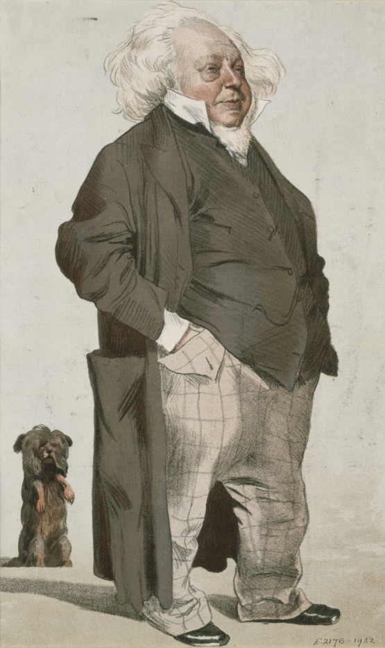 Henry Cole & Jim - Tissot for Vanity Fair © Victoria and Albert Museum, London