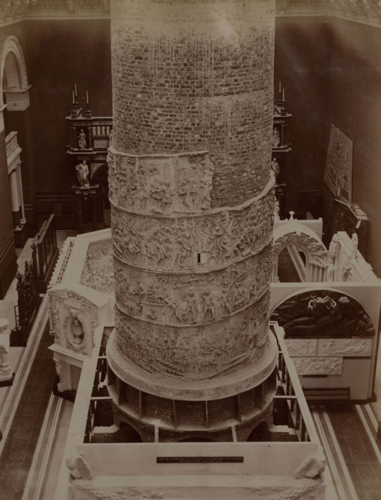 Cast of Trajan's Column, c1873 © Victoria and Albert Museum, London